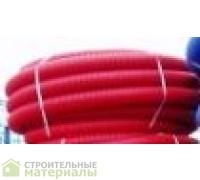 Труба защитная двустенная  ф 110  красная(синяя),для ливнёвых вод.