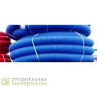 Труба защитная двустенная  ф 160  красная(синяя),для ливнёвых вод.