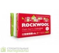 ROCKWOOL 50мм базальтовый утеплитель Роквул ЛАЙТ БАТТС Скандик 50мм  0,288м 5,76 м2  800х600х50мм 12 плит