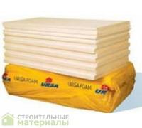 УРСА XPS URSA XPS 100мм экструдированный пенополистирол 35кг/м3 1180х600х100мм 2,83м2 0,283м3 35кг/м3