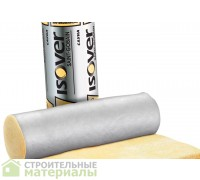 Утеплитель фольгированный Изовер Сауна КТ 40-АЛ  | Isover Sauna (6250х1200х100мм),7,5м2, 0,75м3