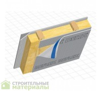 Дельта DELTA REFLEX пароизоляция теплоотражающая мембрана 1,5х50м 75м2 180 г/м2