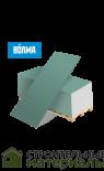 Гипсокартон ВОЛМА ГКЛВ 9,5мм  влагостойкий ГКЛВ - 2500х1200х9.5мм 3м2